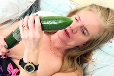 Lily May's Cucumber Playtime