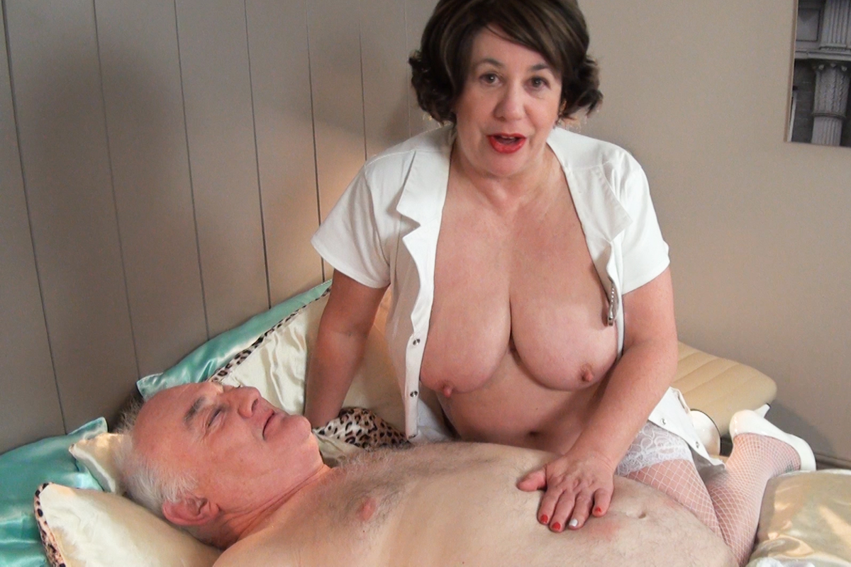 Old nurse fuck