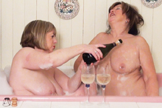Champagne Bath Time