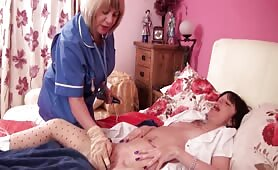 Trisha & Kim are Two Naughty Lesbian Nurses