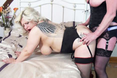 Strap-On Fun with Claire and Gina