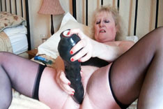 Big Black Dildo